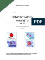 CONCENTRACIÓN MAGNETICA