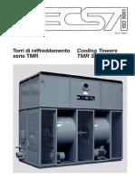 Fisa Tehnica Turn de Racire Cu Ventilator Centrifugal DECSA TMR