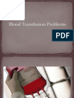 Blood Transfusion Problems