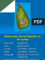 Sri Lanka Country Report