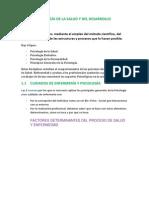 PSICOLOGÍA DE LA SALUD Y DEL DESARROLLO