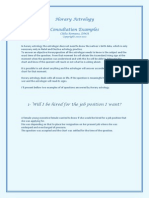 Consultations Examples