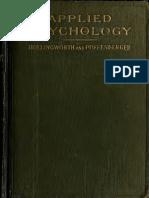 Applied Psycholog 00 Holl u of t