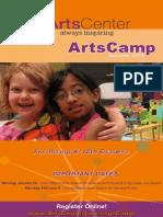 ArtsCenter ArtsCamp 2015 Brochure
