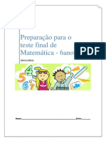 Exame Final de Matemática Do 6ºano