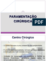 Paramentação em Centro Cirúrgico