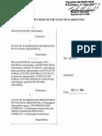 Ralph v. State of Washington Dep't of Natural Resources, No. 88115-4 (Wash. Dec. 31, 2014)