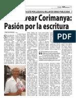 José Alvear Corimanya en el semanario VP