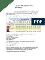 Evolución Del Precio de La Vivienda en Dénia _Costablanca_ en 2014.