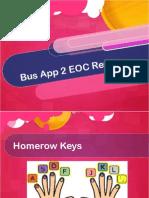 bus app2 eoc review