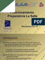 Posicionamiento Preparatoria La Salle