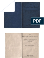 Psalms - Old Scottish Psalm Tunes - Revised Edition - 1908