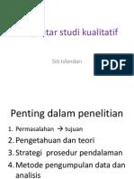Pengantar Kualitatif Indo Santika20141 1