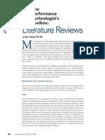 ArticleFive_LiteratureReviewskl