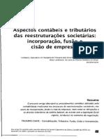 Aspectos Contábeis e Tributários Das Reestruturações Societárias