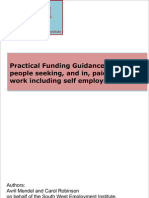 Practical Funding Guidance for Young People Seeking Employment