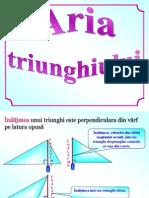 0_aria_triunghiului.ppt