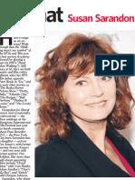 "Newsday ""Fast Chat"" - Susan Sarandon"