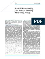 Economic Forecasting and Monetary Policy_S
