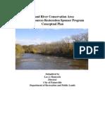 Grand River Conservation Area Conceptual Plan