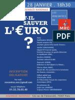 Faut-il sauver l'euro ?