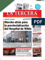 Diario La Tercera 12.1.2015