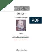 Democrito y Heraclito - Montaigne