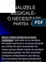 CURS 10 - Analize Medicale II