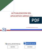 Actualizacion de Maestro y Aplicativo - Copia