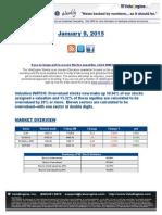 ValuEngine Weekly Newsletter January 9, 2015