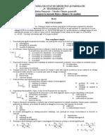 Model MFCA Examen