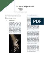 Application of EM Waves in optical fiber.doc