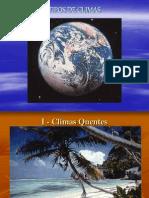 Meio Natural - Tipos Clima