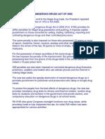 Comprehensive Dangerous Drugs Act of 2002 Edit