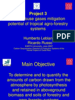 Greenhouse gases mitigation potential of tropical agro-forestry systems.