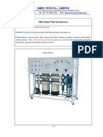 OMT Water Filer