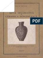 Arta Decorativa in Ceramica Romaneasca