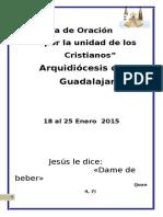 Hora Santa - 2015-Semana de Oracion Por La Unidad de Los Cristianos 1