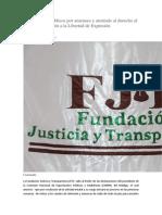 Espectáculos Públicos Por Amenaza y Atentado Al Derecho Al Trabajo y Violación a La Libertad de Expresión
