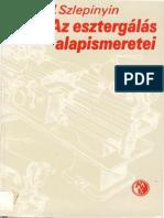 Az Esztergalas Alapismeretei - V.a. Szlepinyin