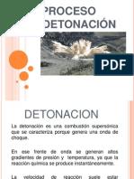 Proceso de Detonación