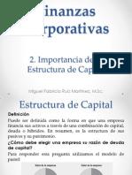 3. Importancia de La Estructura de Capital
