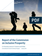 Report of the Commission on Inclusive Prosperity
