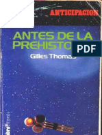 Antes de La Prehistoria-Gilles Thomas