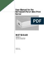 Netgear Ps121 User Manual