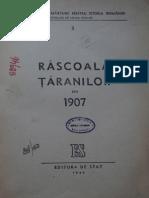 Mihail ROLLER Rascoala Trarnilor din 1907