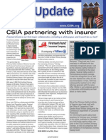 CSIA in NCSG's Sweeping magazine, January 20115