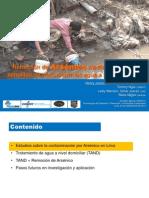 RemocionRemoción de Arsénico mediante soluciones sencillas de tratamiento de agua a nivel domiciliar DeAs NivelDomiciliar HenryJuarez AguaSANPeru