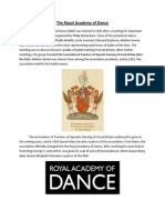 the royal academy of dance