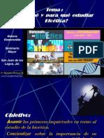 Por Qué y Para Qué Estudiar Bioética8VaGen
